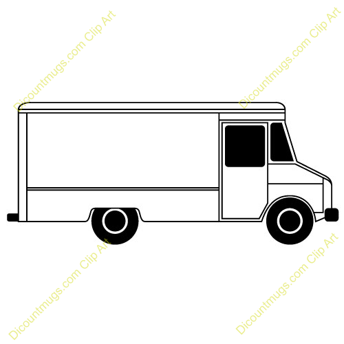delivery truck clipart images - photo #20