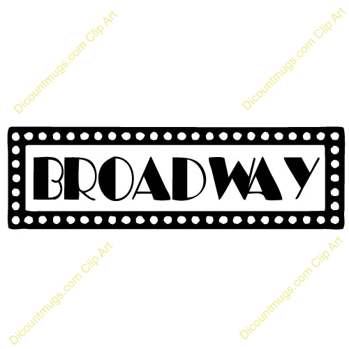 Broadway Lights Border Clipart marquee - Drive...