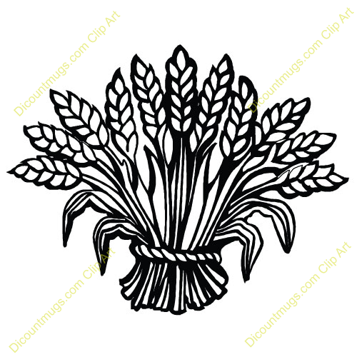 Sheaf Of Wheat Colouring Pages