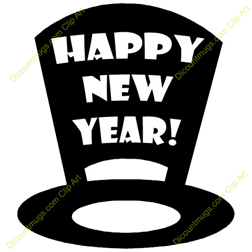 new year hat clipart - photo #4