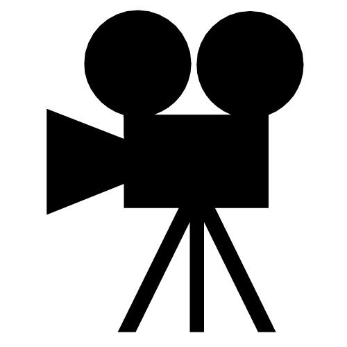 """People who have use this Clip Art #10804 """"movie-camera48"""" has applied ..."""