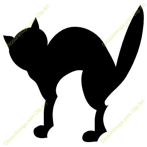 clipart scared cat - photo #13