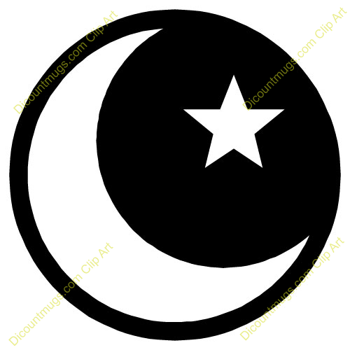 free clip art moon and stars - photo #35