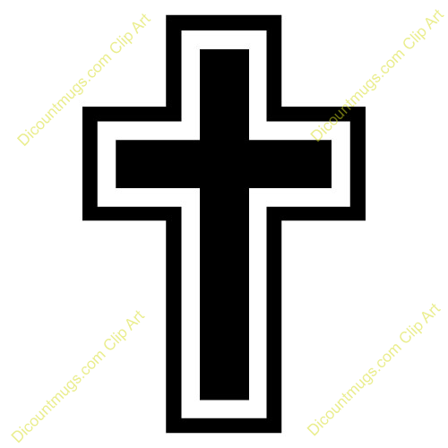 Cross outline