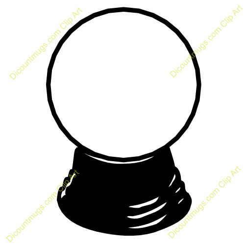 Clipart 11426 crystal ball 118 - miscellaneous mugs, t-shirts, picture ...