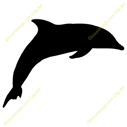 Dolphins jumping out of water clipart - photo#27