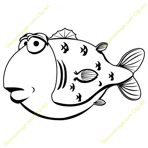Displaying (20) Gallery Images For Blowfish Clipart...