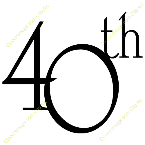 name 40th anniversary description decorative text only 40th ...