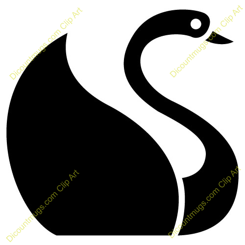 Swan Clipart With this swan clip art.