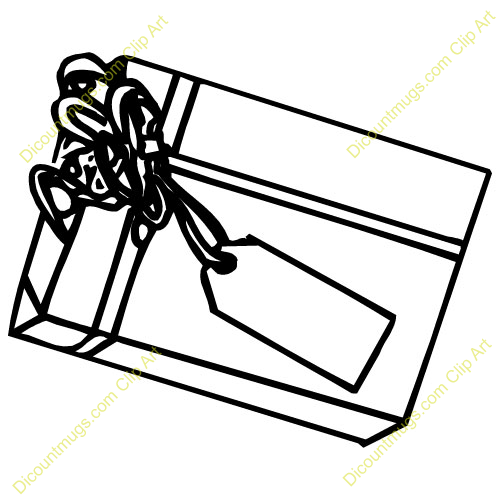 Wedding Gift Clipart : Gift Bag Clipart Wedding gift bag with tag