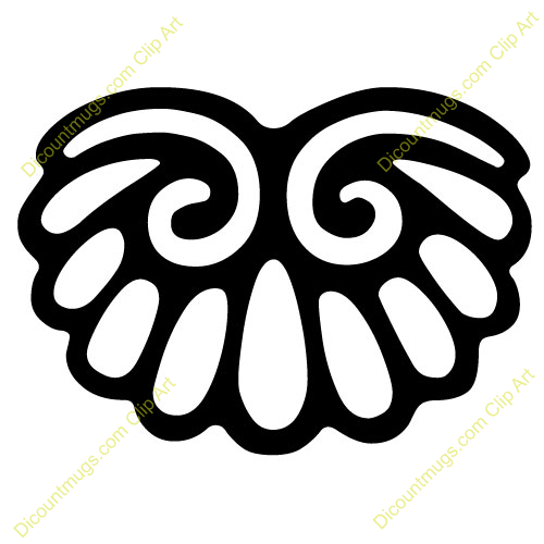 Turkey Tail Feathers Clip Art Clipart 12003 wings - wings