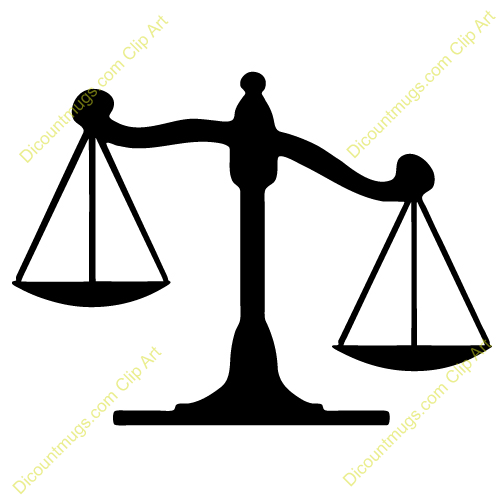 legal scales clipart - photo #27