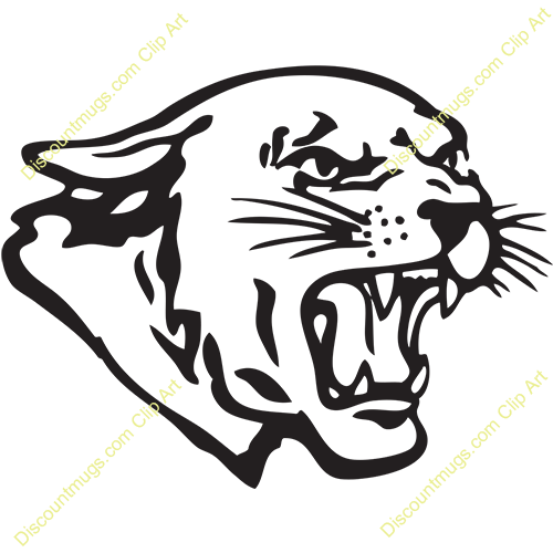 panther head 12325 cougar clip art free cougar clipart png