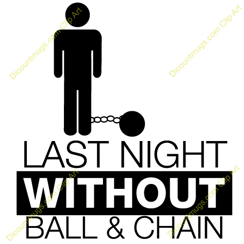 ball and chain - 12352