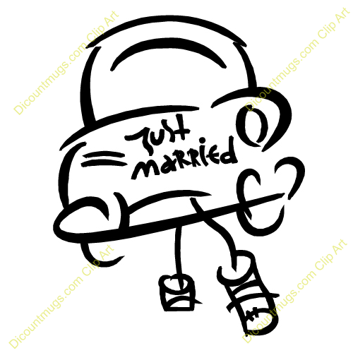 Cupcake Line Drawing further Skeleton Clip Art Images Skeleton Stock Photos   Clipart Skeleton additionally Free Clipart 601 in addition Disney Wedding Clipart together with Mariage. on just married cliparts
