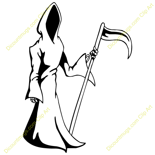 flaming grim reaper clipart rh worldartsme com