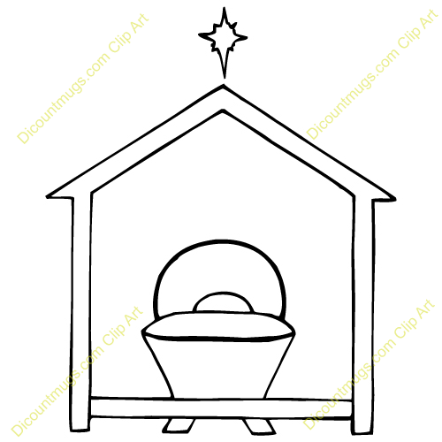 Manger Clipart With this manger clip art.