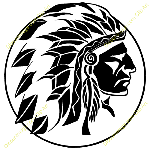 Indian Chief Clip Art Related Keywords & Suggestions - Indian Chief ...