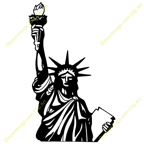 Statue Of Liberty Clip Art For Kids Statue of liberty Statue Of ...