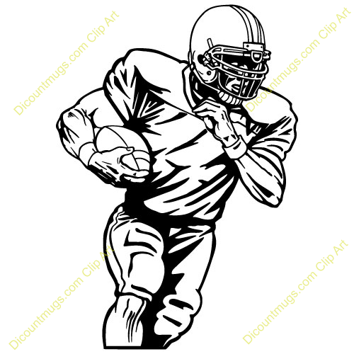 football player clipart images - photo #22