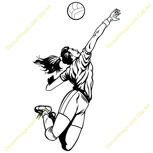 volleyball setting clipart - photo #21