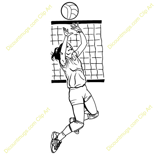volleyball setting clipart - photo #6