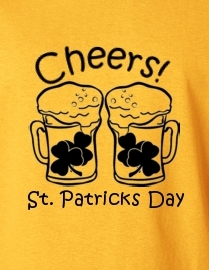 Cheers! St Patrick's Day