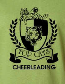 Tiger Cheerleading Design
