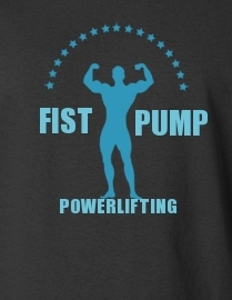 Fist Pump Powerlifting
