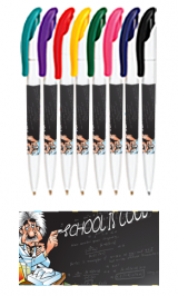 Promotional White Full Color Wrap Pens
