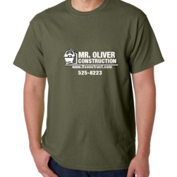 oliver construction - Company T Shirt Design Ideas