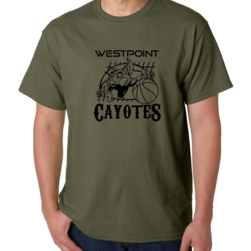 Basketball Cayote Design