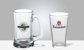 custom glasses personalized glassware printed engraved discountmugs