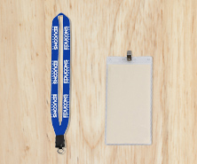 Badge Holders & Lanyards
