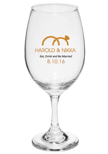 Wine Glasses For Wedding