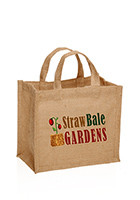 TOT160 - Wholesale Burlap Tote Bags with Your Custom Logo