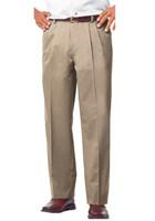 BGEN8000P - #BGEN8000P Blue Generation Promotional Men's Teflon Treated Twill Pleated Front Pants