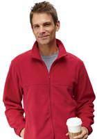 M990 - Custom Harriton Men's Full-Zip Fleece Jackets
