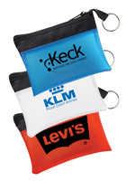 Personalized Pocket Travel Pouches