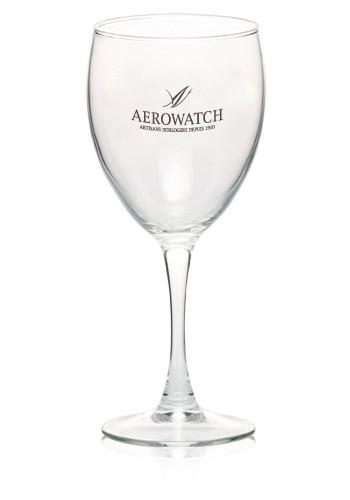 105 oz nuance goblet monogrammed wine glasses