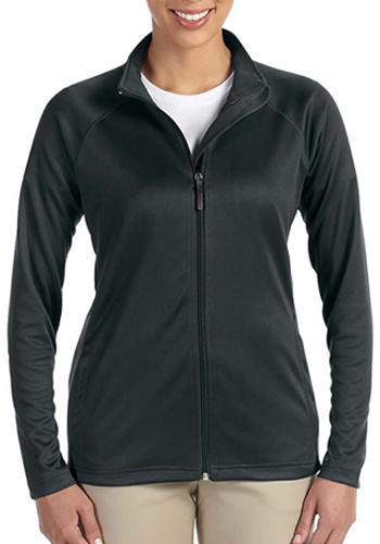 D /& Jones Womens Stretch Tech-Shell Compass Full-Zip Jacket