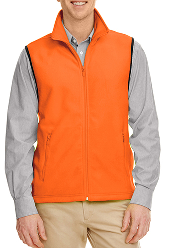 Custom fleece vest