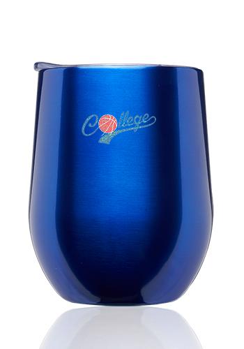 d1968b5218d Custom 11 oz Largo Stemless Wine Glass with Lid | SW46 - DiscountMugs