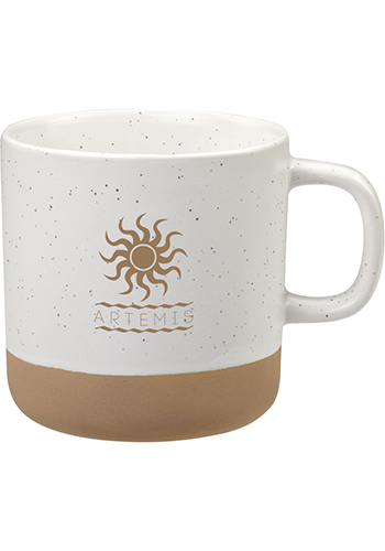 12 Oz Santos Ceramic Mugs | SM6355
