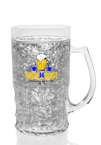 13 5 Oz Acrylic Freezer Beer Mugs Afm007