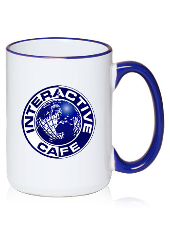 #HL15 15oz Large Halo Promotional Coffee Mugs
