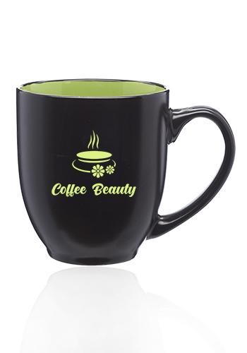 Two-Tone Ceramic Bistro Mugs