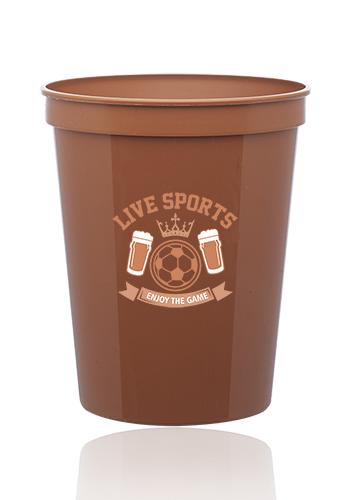 71add2137ae Custom 16 oz. Reusable Plastic Stadium Cups | SC16 - DiscountMugs