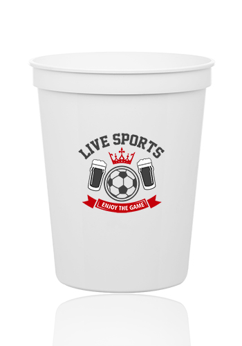 Reusable Plastic Stadium Cups