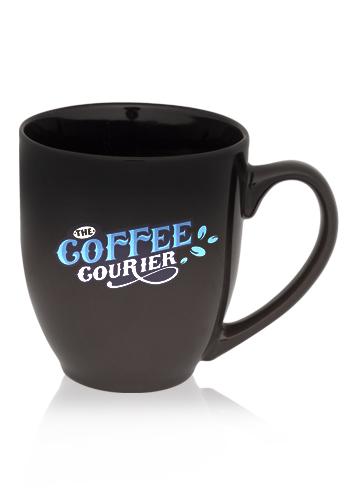 Gradient Ceramic Bistro Coffee Mugs